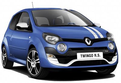 Bénéficiant du restylage de la Phase II, la Renault Twingo RS adopte un tout nouveau design au niveau de la face avant, avec une lame F1 dans le bas du bouclier avant. Son moteur est toujours le K4M RS, 1.6L 16 de 133 ch. Sa consommation a été légèrement abaissée.
